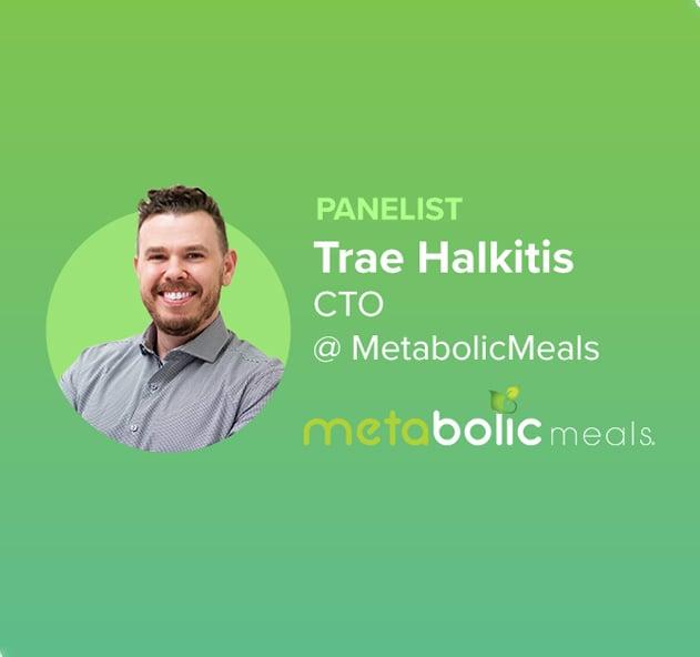 Trae Halkitis CTO, Metabolic Meals